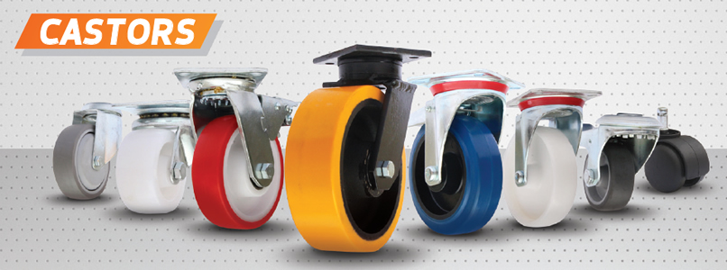 Manufacture castors and wheels